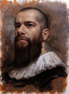 Nude Portrait, Oil Portrait, Figure Painting, Painting & Drawing, Painting Frames, Cesar Santos, Best Portraits, Realistic Drawings, American Artists