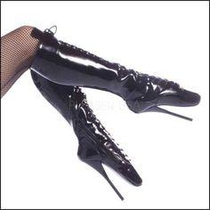 ballet knee, spike heel, designer shoes, ballet boot, knee highs, heels, black, knee boot, boots