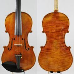 "Guarnieri Ole Bull' 1744 Violin Copy .""All European Wood"" ,oil varnish!Best performance!Free Shippin, Case,Bow!"