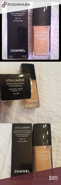 Chanel Foundation Brand new never used color is natural beige CHANEL Makeup Foundation