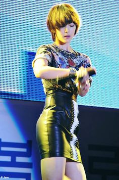 """f(x) Sulli at Kyungbok Alumni Festival, 10/20/12. Our """"Giant Baby"""" is growing up! *sniffles*"""