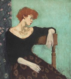 Seated Profile by Malcolm Liepke, Limited Edition Print, Lithograph