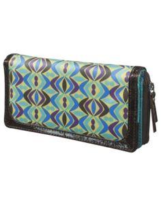Merona Abstract Zip Around Wallet -...