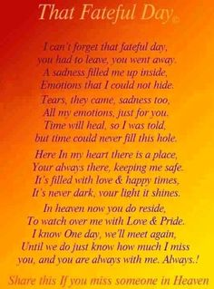 Forever in my Heart, I love you, and I miss you Brandon. Bob Marley, Missing My Husband, Grief Poems, Heaven Quotes, Heaven Poems, Grieving Quotes, Miss You Mom, Memorial Poems, Memorial Cards