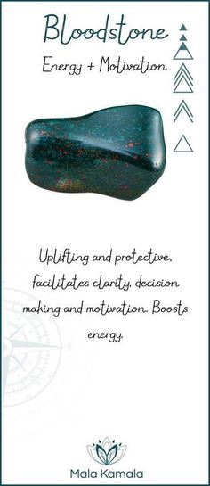 Bloodstone for the Heart Chakra