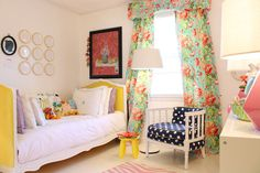 Found on Hellobee.com! Lillys-Room-01 - 1 // If baby is a girl, I want this room for her.