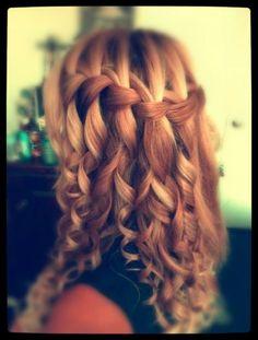 Coiffure cheveux long à tester