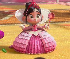 Vanellope von Schweetz Princess Cosplay Wreck-it Ralph Costume Disney Pixar, Disney Animation, Disney Icons, Film Disney, Disney Magic, Disney Art, Disney Movies, Disney Cosplay, Vanellope Cosplay