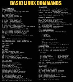 Cool Linux Commands you should know. Linux Commands Source by SeniorTodo Learn Computer Coding, Life Hacks Computer, Computer Basics, Computer Help, Computer Hacking, Technology Hacks, Computer Technology, Computer Science, Desenvolvedor Web