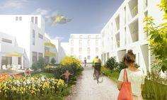 Wohnquartier in Offenburg - lennart's portfolio on archcase