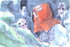 Totoro, Studio Ghibli Art, Ghibli Movies, Hayao Miyazaki, Art Studios, Anime Manga, Character Art, Concept Art, Illustration Art