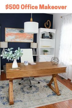 home office makeover pinterest. Home Office Makeover On A Budget Home Office Makeover Pinterest E