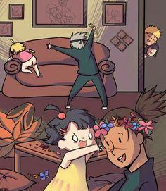 Naruto Uzumaki Shippuden, Naruto Kakashi, Anime Naruto, Naruto Shippuden Characters, Naruto Comic, Naruto Cute, Naruto Girls, Anime Meme, Naruto Mignon