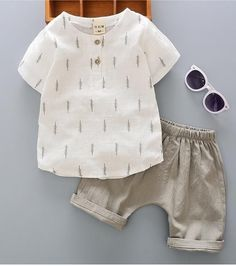 Casual Toddler Outfits Baby Boy Summer Clothes Newborn Boy Clothing Set Sports T-shirt+ Shorts Suits Leaves Baby Outfits, Boys Summer Outfits, Newborn Outfits, Toddler Outfits, Baby Boy Summer Clothes, French Baby Clothes, Toddler Dress, Baby Boy Fashion, Fashion Kids