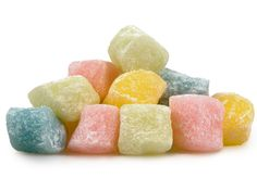 Mochi rice cakes are a sweet Asian dessert treat, now in rainbow colors. A soft and chewy texture, these rice cakes will disappear before you know it. Eat them by themselves, or use them as a topping in your ice cream or cereal.
