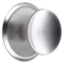 Dish Cabinet Knob with Round Backplate
