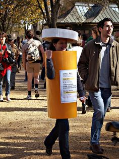 chill pill costume - awesome