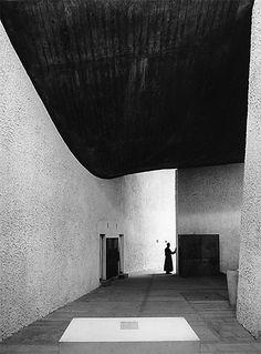 Ezra Stoller, Notre-Dame-du-Haut Chapel, Le Corbusier, 1955