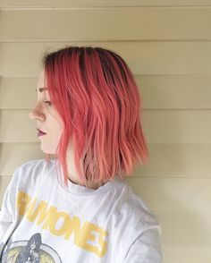 """Let @katethegreat704 do her thang on my hairs last night. She's AMAZING. Seriously, so educated when it comes to colour, cut...even eco-friendly methods and the whole shebang (yeah I said it)! Hit me up if you're in Charlotte area and want more info on her services! I can't recommend her enough. . Of course, the star of this head of pink hair is @gooddyeyoung's amazing """"Ex-Girlfriend"""" Semi-Permanent Dye. It's vegan, incredibly hydrating, is botanically infused with natural sunflower and…"""