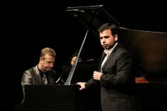 Jette Parker Young Artist Luis Gomes performing in recital, accompanied by David Gowland © ROH / Lottie Butler 2014