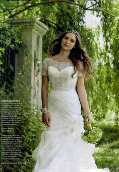 Enchanted Atelier {Jardin Vine} featured in Bridal Guide magazine.