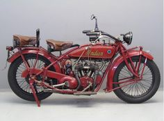 Indian 1923 Scout 600 cc 2 cyl sv