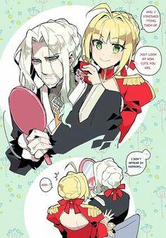 Fate/Grand Order Nero Claudius ,Vlad III