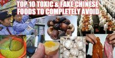 中国で作られたこれらの10の食品を避ける - 彼らはプラスチック、農薬、そして癌が充填されています...