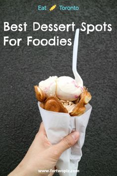 Want to know the best dessert spots in Toronto? Check out this post for a complete list.