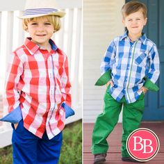Add a dash of dapper to his wardrobe with this bold ensemble from @brandisboutiqueshop!! Our Plaid Button Down & Chinos Sets {$34.95} are now LIVE at brandisboutiqueshop.co! #Easter #BBKids #spring #plaid #dapper ❤️