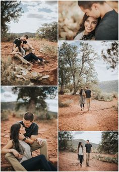 Photography forest engagement photos, engagement ring photography, couple p Forest Engagement Photos, Outdoor Engagement Photos, Engagement Photo Outfits, Engagement Session, Engagement Couple, Engagement Ring, Couple Photography Poses, Couple Portraits, Family Photography
