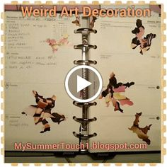 MySummerTouch1: To Decorate or Not To Decorate (a planner, filofax...
