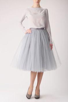 Belle House Silver Skirts Petticoat Dress Tulle for Women Tulle Costumes, 1950s Skirt, Silver Skirt, Full Midi Skirt, Long Skirts For Women, Short Skirts, Party Skirt, Party Dresses, Petticoats