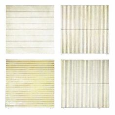 Agnes Martin. Above are prints 1998. Agnes has work in many collections, such as MOMA, DIA Beacon, Menil in Houston, SFMOMA, etc etc. There's a gallery with her name in Taos.