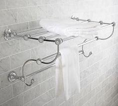 Bathroom Storage Shelves & Hooks | Pottery Barn