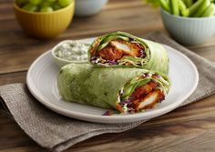 Foster Farms Recipe: Buffalo Blue Cheese Roll-Up Sandwiches