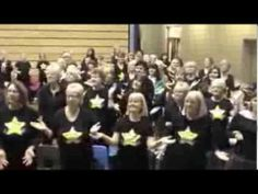 Derby and Nottingham Rock Choir's 'I believe in a Thing called Love' Dance Moves