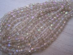 Vintage+English+Rough+Cut+beads++glass+bead+by+Frenchsteelbeadshop,+$6.00