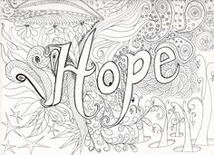 hard coloring pages - Free Large Images