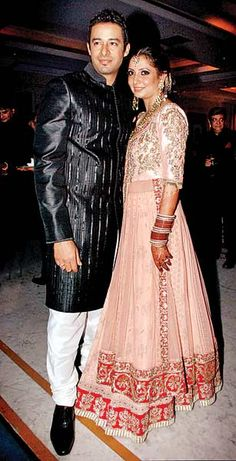 Zulfi Syed & Sheena Verma at their post Wedding Reception, Jan, 2012