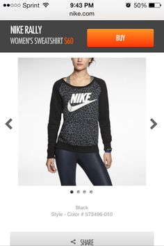 Hello! My name is Chelsea and I'm addicted to Nike