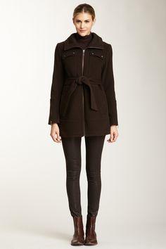 Cole Haan Wool/Cashmere Coat on HauteLookmy spy gear
