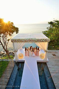 wedding destination photography from private VIlla Amanzi, Phuket, Thailand