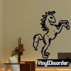 Horse Wall Decal - Vinyl Decal - Car Decal - DC002