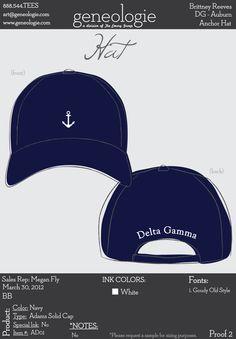 Delta Gamma cap