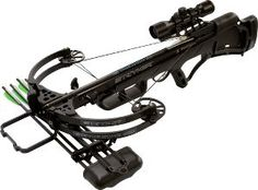 Stryker StrykeZone 380 Crossbow. Used by Daryl Dixon of The Walking Dead. Absurdly powerful, and comfortable to carry. Great for distance shots.