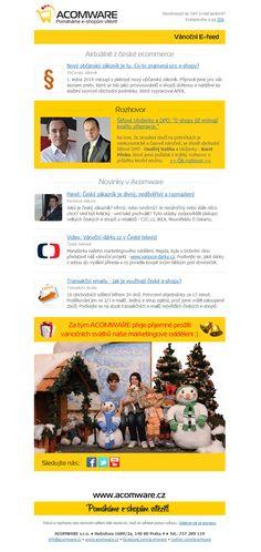 Vánoční e-feed