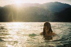 wild free swimming