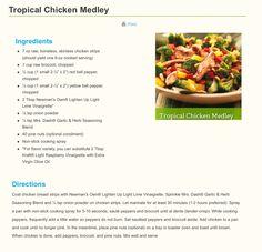Tropical Chicken Medley