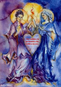 The Goddess in me honours the Goddess in you.. WILD WOMAN SISTERHOODॐ…